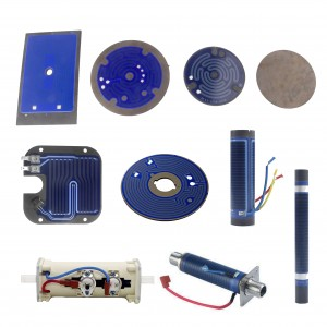 Thick Film Heating Plates and Heaters